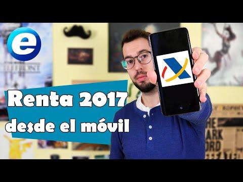 Renta 2017 desde el móvil