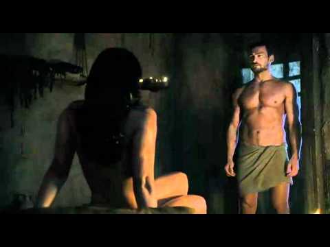 Spartacus Ep9 #1 - Scena Sesso Lucrezia Con Batiato E Mira Con Spartacus video
