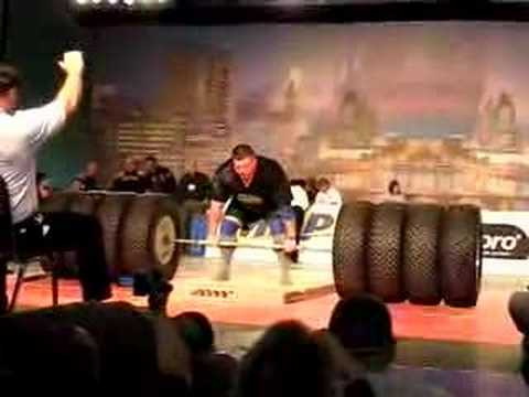 Arnold Strongman 2008 Zydrunas Savickas 1066 Hummer Deadlift
