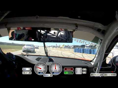 Sebring Race 1 2014 GT3 Cup - Colin Thompson
