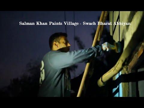 Salman Khan Bajrangi Bhaijaan Team Paints Entire Village - As A Swach Bharat Abhiyan video