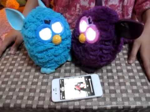   FURBY MANDARIN VS ENGLISH