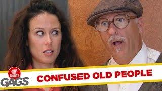 Starsze osoby udają niedołężnych starców