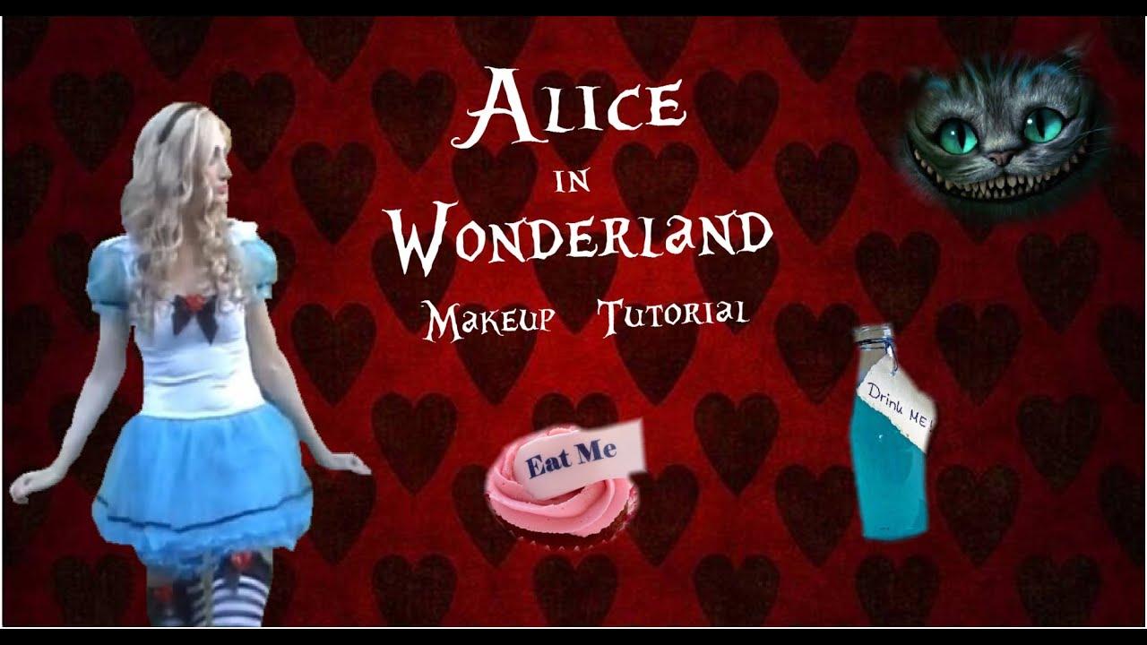 Storybook Alice in Wonderland Makeup Tutorial