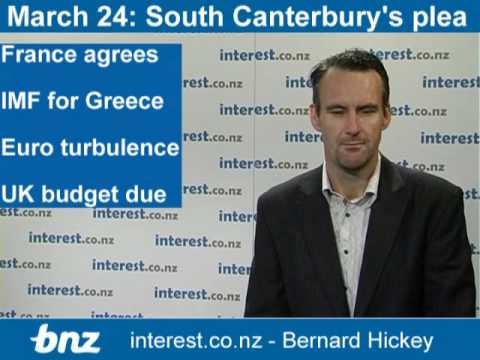 90 seconds at 9am: South Canterbury pleads; France abandons Greece too