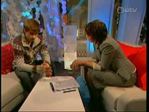 Alexander Rybak - Tallinn - The most saddest interview  Александр Рыбак