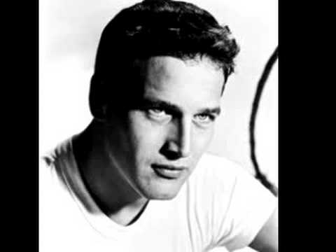PAUL NEWMAN-MEMORY poem. Written work on right.