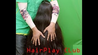Download Extreme Hair Play with Lustrous Passionate Long Hair 3Gp Mp4