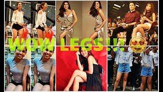LEGS: SILIPIN ANG MGA TOP 10 SEXY LEGS PHOTOS NI MAINE MENDOZA! #ALDUBIrreplaceable