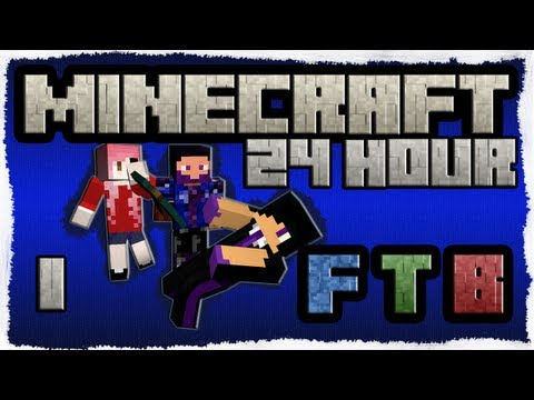 24 Hour FTB Insanity w/ quirky and Ajsepicgames 1