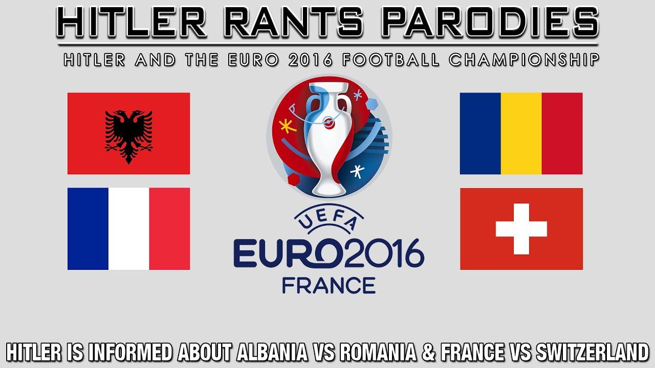 Hitler is informed about Albania Vs Romania & France Vs Switzerland