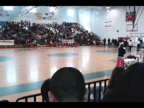 St lucie west centennial high school pep rally