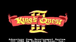 King's Quest III: To Heir is Human  - Intro (1986) [Sound Comparison]