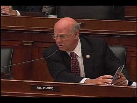 7/25/12: Pearce questions Geithner during House Financial Services Committee Hearing
