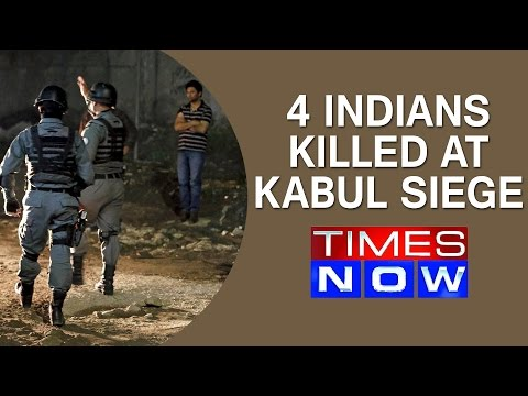 Top Story   4 Indians killed at Kabul siege