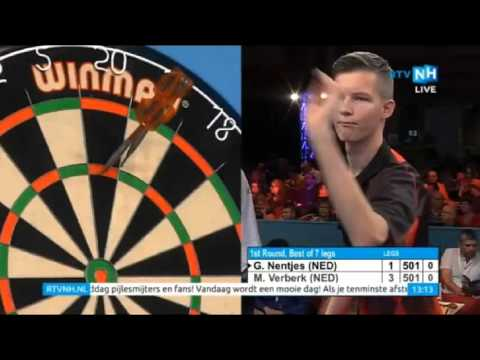 2015 BDO Finder Darts Masters Round 1 Nentjes vs Verberk