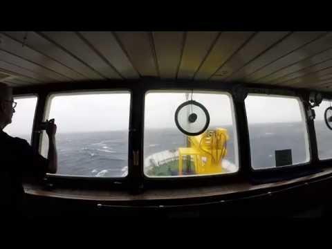 Drake Passage: Rough Seas to Antarctica