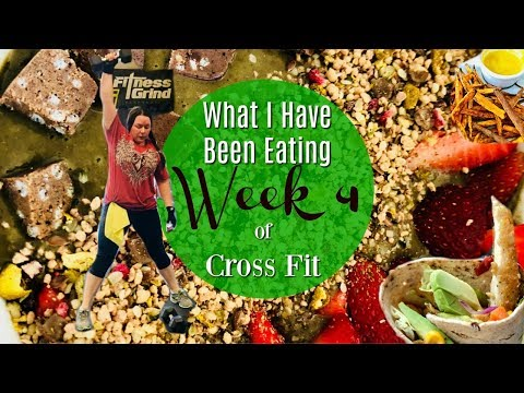 What I Eat As A VEGAN for Cross Fit | KUWTF VLOG May 30th - June 2nd 2018