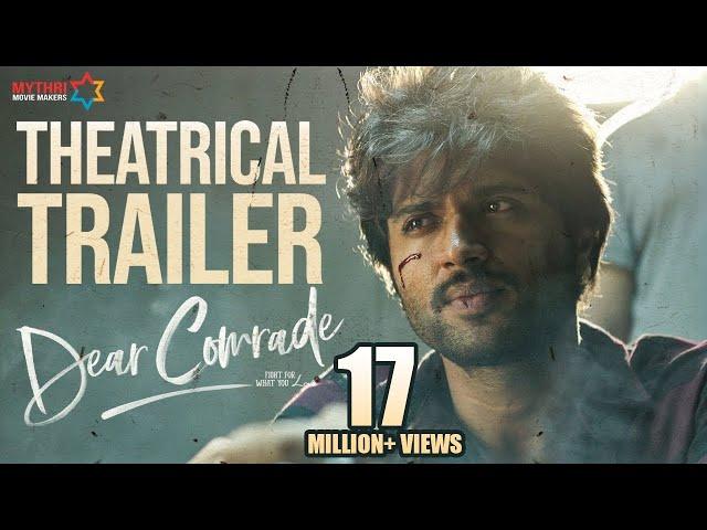 Dear Comrade Theatrical Trailer | Vijay Deverakonda | Rashmika | Bharat Kamma | Justin Prabhakaran thumbnail