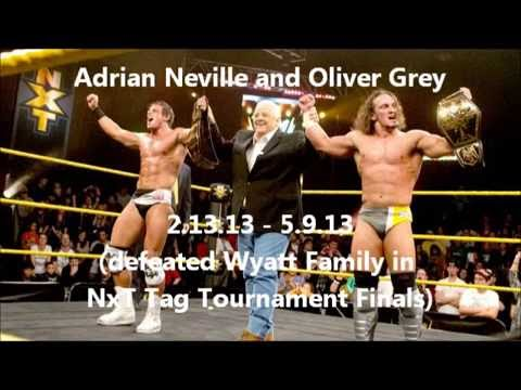 NxT Tag Team Championship Title History (as of 5.15.13)