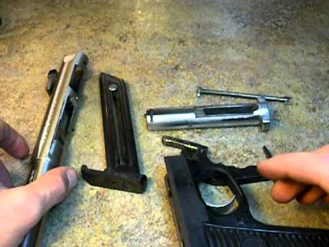 Ruger 22/45 Disassembly & Assembly