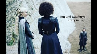 Jon and Daenerys - Crazy in love HD