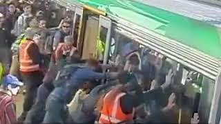 Metro Train accident