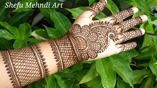 Download Simple and Easy Beautiful Front Hand Mehndi Designs