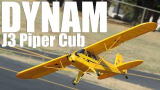 New Dynam Super Detail 4 Ch Piper J3 Cub Review