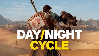 Assassin's Creed: Origins - Day/Night Cycle Time Lapse (4K)