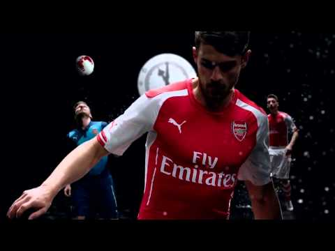 The Boss Arsene Wenger PUMA Arsenal NEW 2014-2015 Home and Away KIT