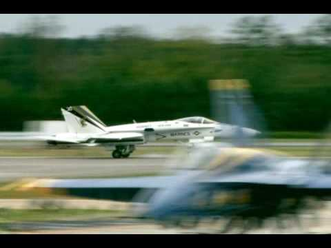 2009 NAS Oceana Airshow - F/A-18C Hornet Demonstration Video