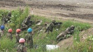 日米共同訓練で射撃公開