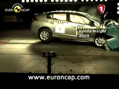 В каком авто % выживание выше Skoda Yeti vs Honda Insight Hybrid