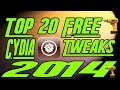 Best [Top 20 iOS 7.1.x FREE] Cydia Tweaks Pangu April 2014 iPhone, iPad