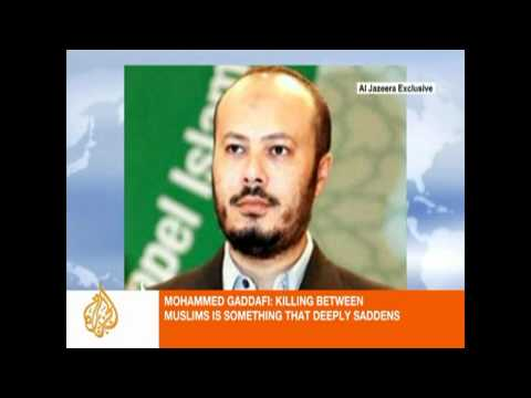 Gaddafi son in Libyan rebel custody