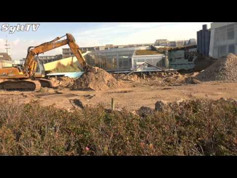 Aussenbecken der Sylter Welle wird abgerissen