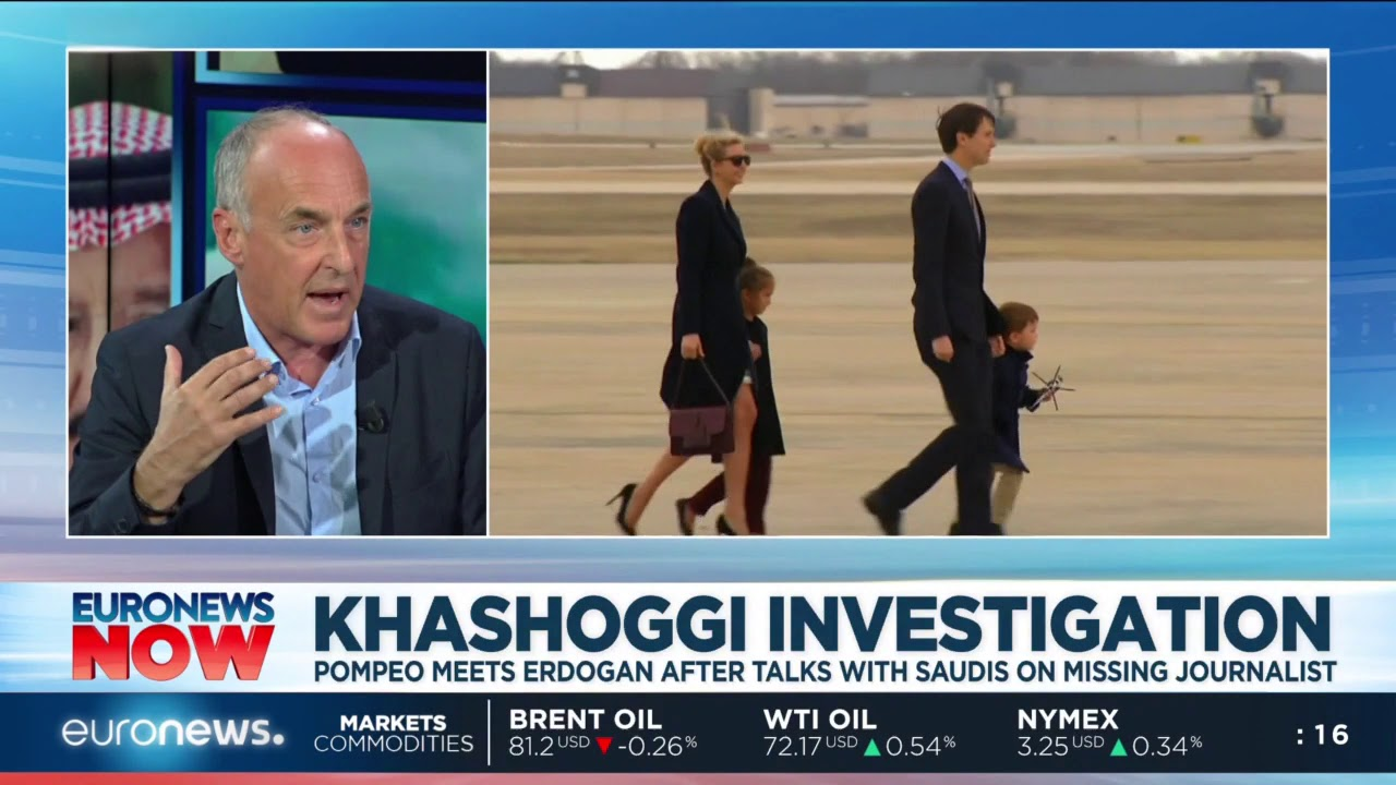 Euronews Now: The US-Saudi relationship as Khashoggi investigation unfolds