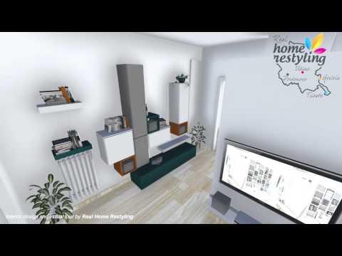 Real Home Restyling – ristrutturazione appartamento bilocale di 55 mq. e proposta di arredo