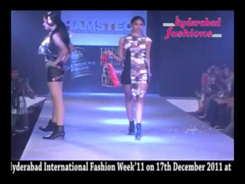 HAMSTECH Fashion Show 2 at Blenders Pride Hyderabad International Fashion Week