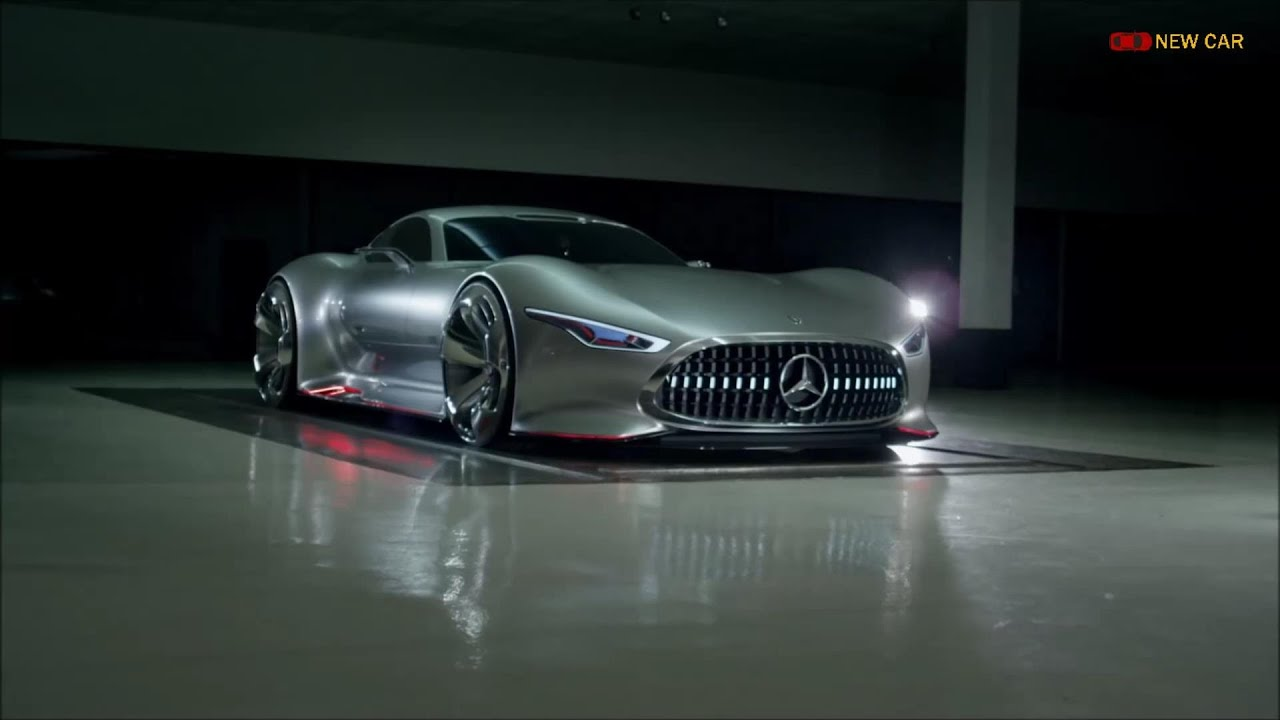 2015 mercedes benz amg vision gran turismo concept car for Mercedes benz new cars 2015