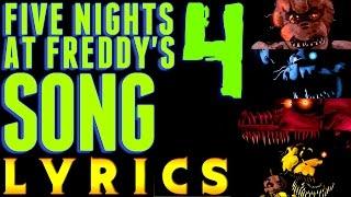 FIVE NIGHTS AT FREDDY'S 4 SONG 'Bringing Us Home' (Lyric Video) FNAF 4
