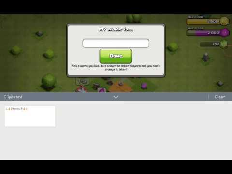 How to Put EMOJI's on Your Username | Clash of Clans