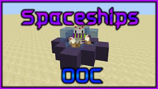 Minecraft: Spaceships | Only One Command (Suggested By Christian Chechi)