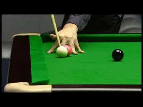 Amazing snooker shot - 2008 Masters, Maguire vs. O-Sullivan
