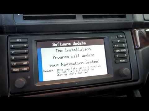 BMW Navigation MKIII Software Update - Key CD