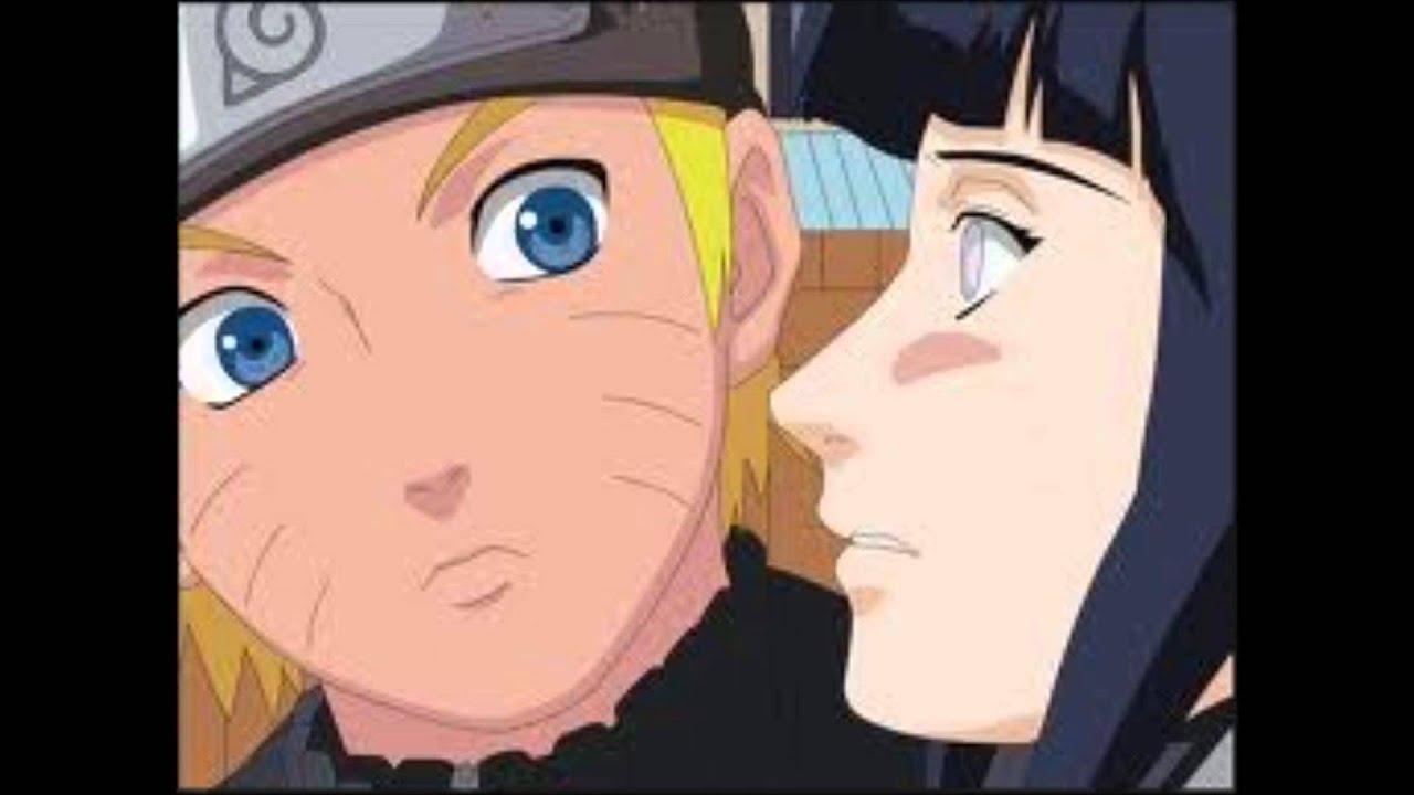 naruto and hinata kiss...