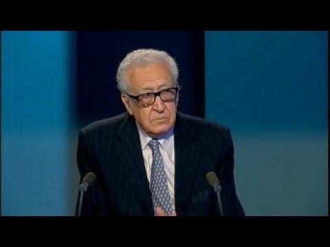 """Lakhdar Brahimi : """"Il n'y a plus personne qui essaie de faire la paix en Syrie"""""""