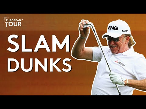 The best slam dunks in golf 🏀