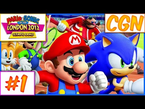 WELCOME TO LONDON - Mario & Sonic at the London 2012 Olympics - CREATURE GAME NIGHTS